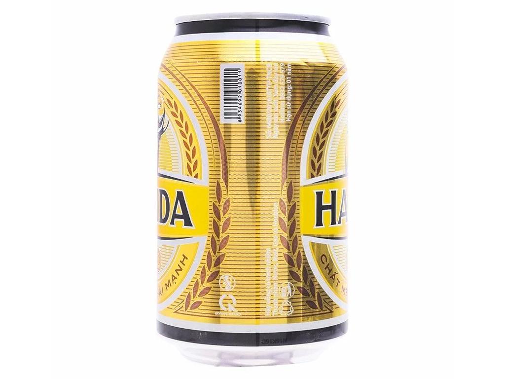 Thùng 24 lon bia Halida 330ml 3