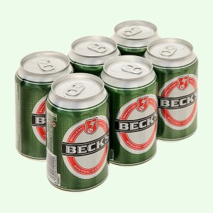 6 lon bia Beck's 330ml
