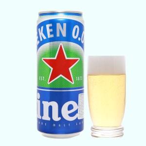 Bia Heineken 0.0% độ cồn lon 330ml