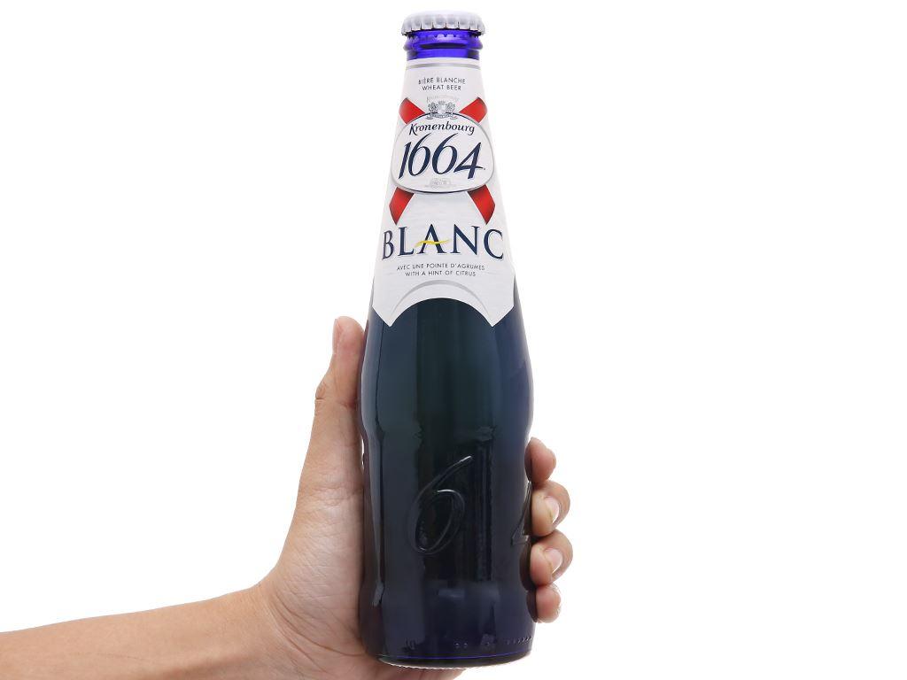 6 chai bia Kronenbourg 1664 Blanc 330ml 5