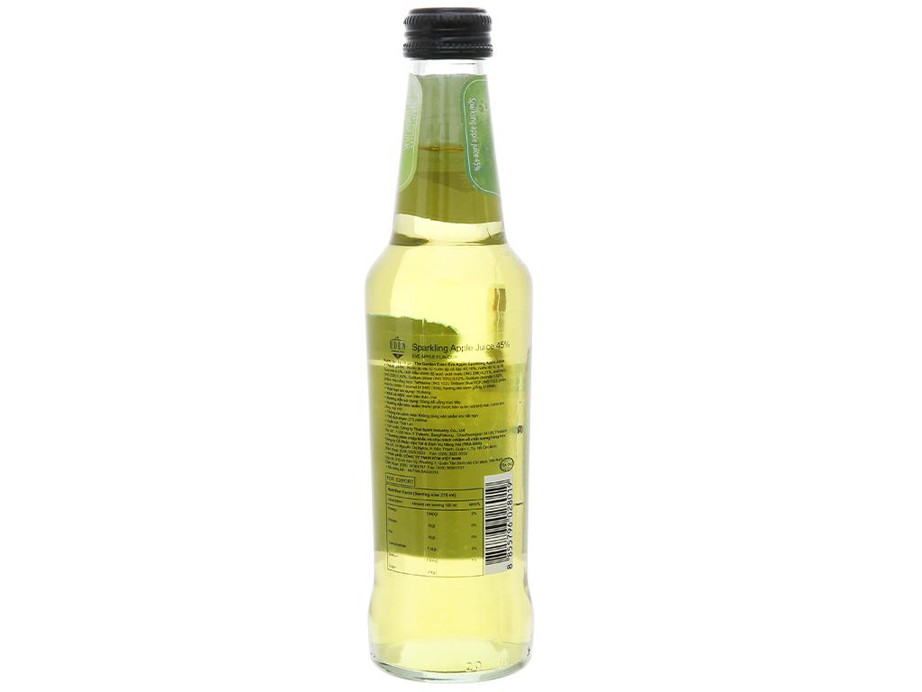 Nước ép táo có ga Eden Eva chai 275ml 4