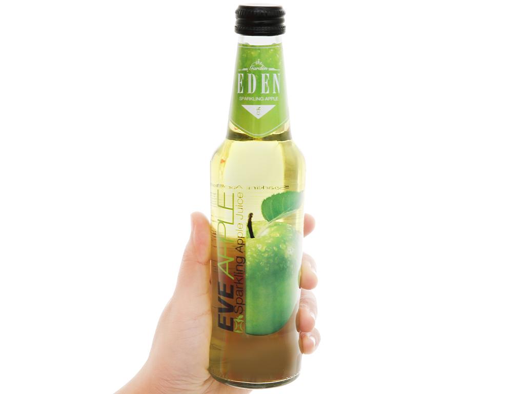 Nước ép táo có ga Eden Eva chai 275ml 6