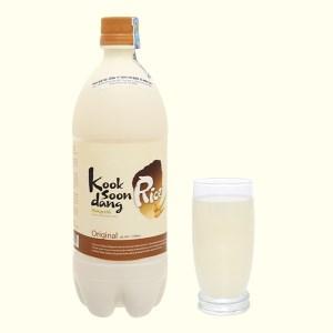 Nước gạo lên men KOOK SOON DANG Makgeolli truyền thống chai 750ml