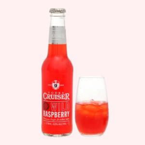 Rượu Vodka Cruiser Wild Raspberry chai 275ml