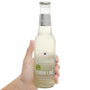 Rượu Vodka Cruiser Zesty Lemon-Lime chai 275ml