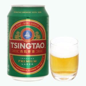 Bia Tsingtao Lager lon 330ml