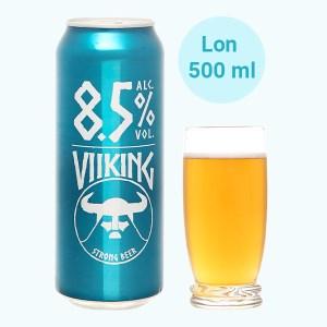 Bia Viiking Strong Beer 8.5% lon 500ml