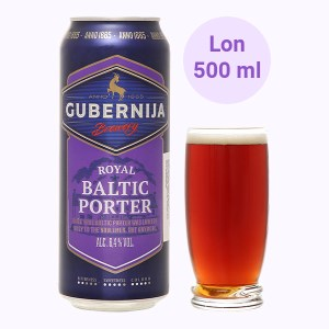 Bia Gubernija Royal Baltic 6.4% lon 500ml