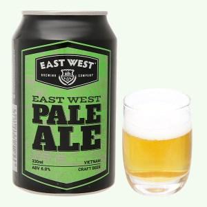 Bia East West Pale Ale lon 330ml