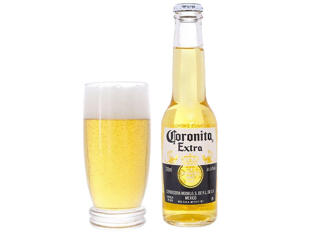 Thùng 24 chai bia Coronita Extra 210ml 3