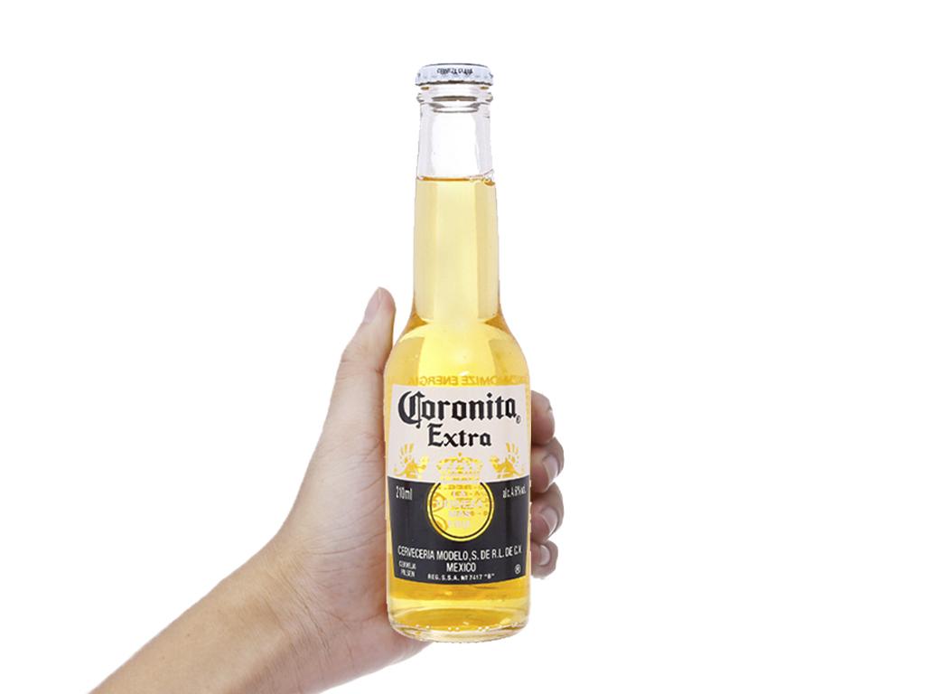 Thùng 24 chai bia Coronita Extra 210ml 4