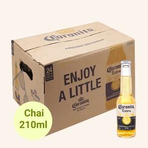 Thùng 24 chai bia Coronita Extra 210ml
