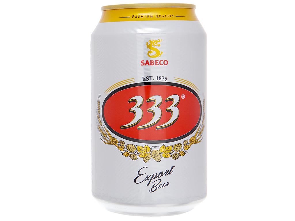 Bia 333 330ml 2