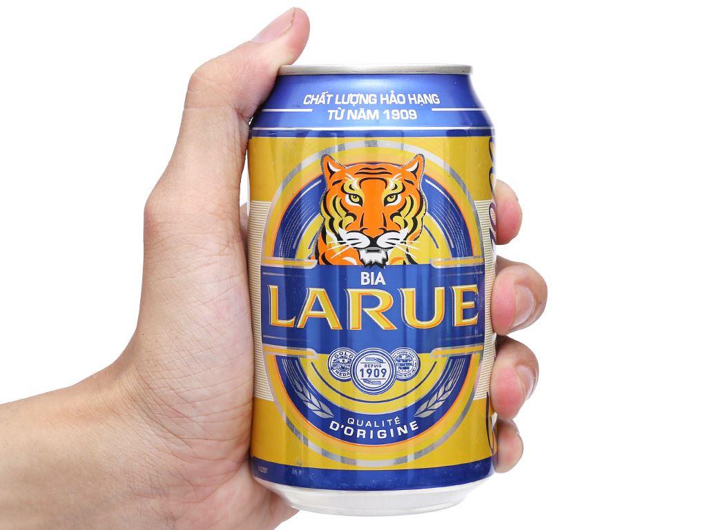 Bia Larue Xanh 330ml 4