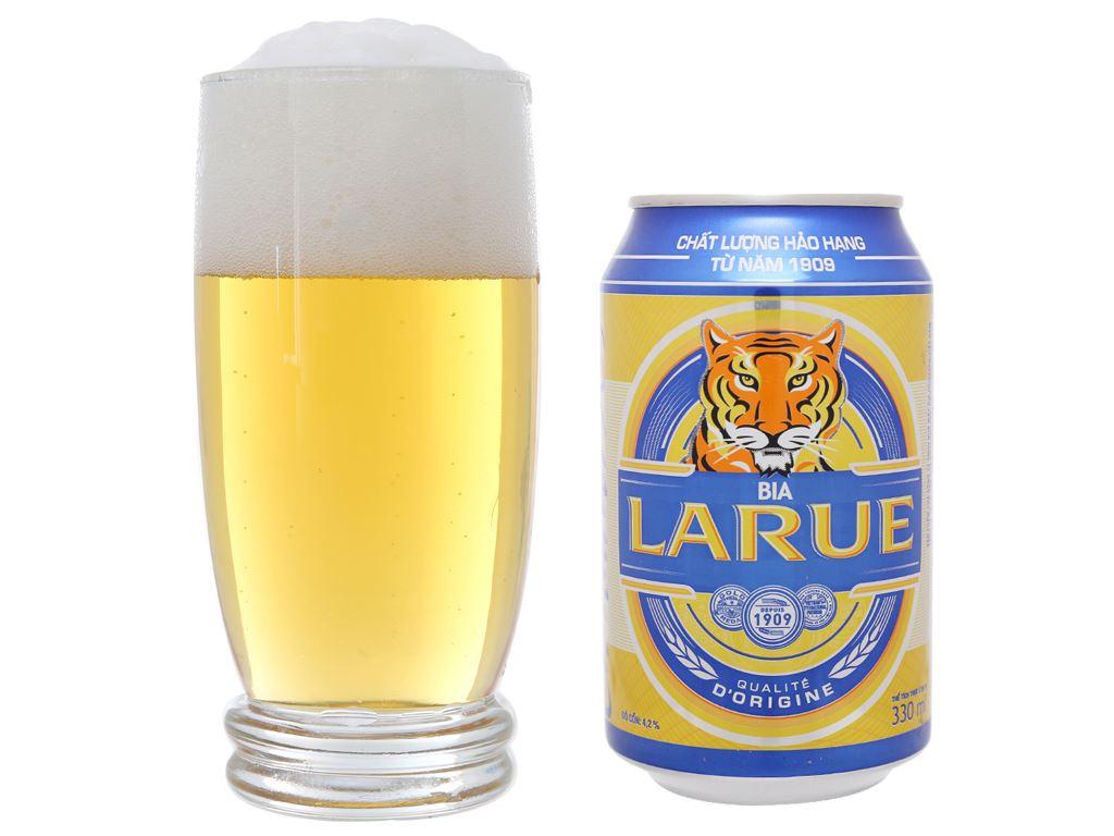 Bia Larue Xanh 330ml 5