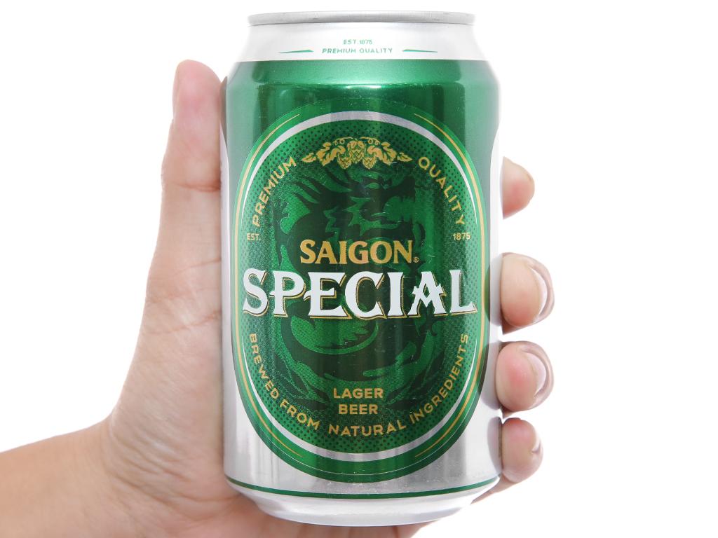 Bia Sài Gòn Special 330ml 4
