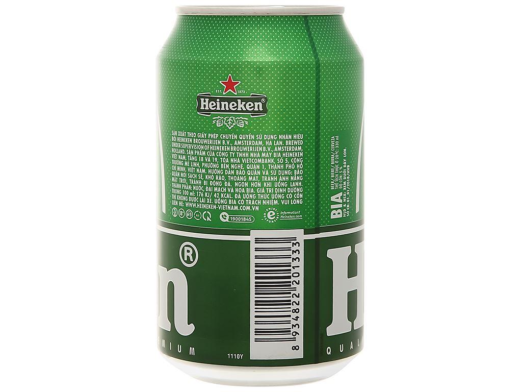 Thùng 24 lon bia Heineken 330ml 3