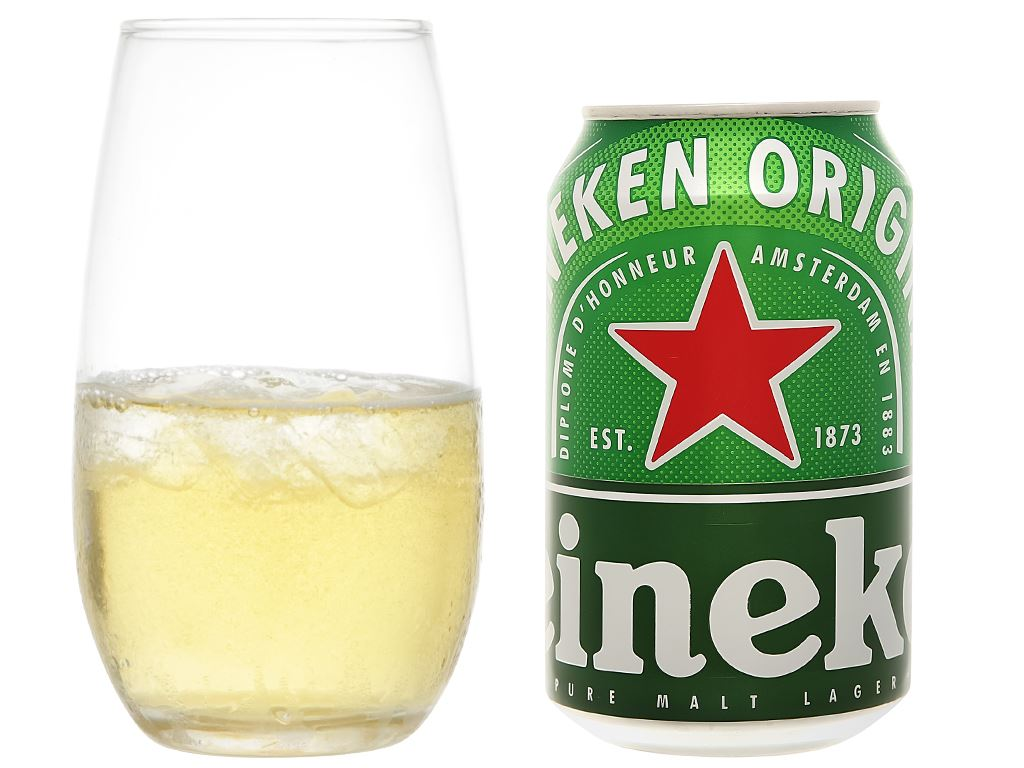 Thùng 24 lon bia Heineken 330ml 5