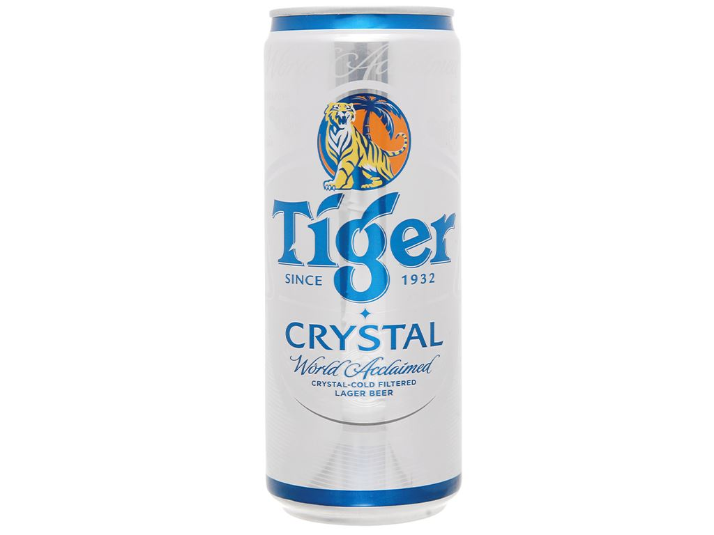 Bia Tiger Crystal 330ml 1