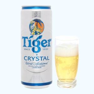 Bia Tiger Crystal 330ml