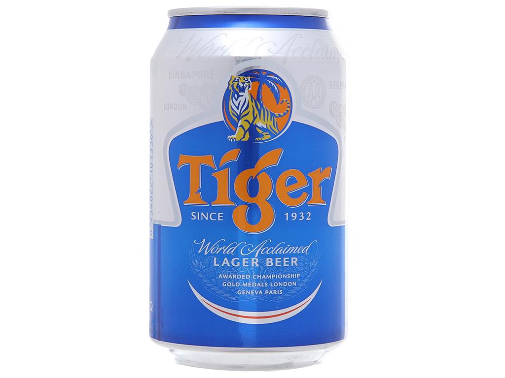 Thùng 24 lon Bia Tiger 330ml 3