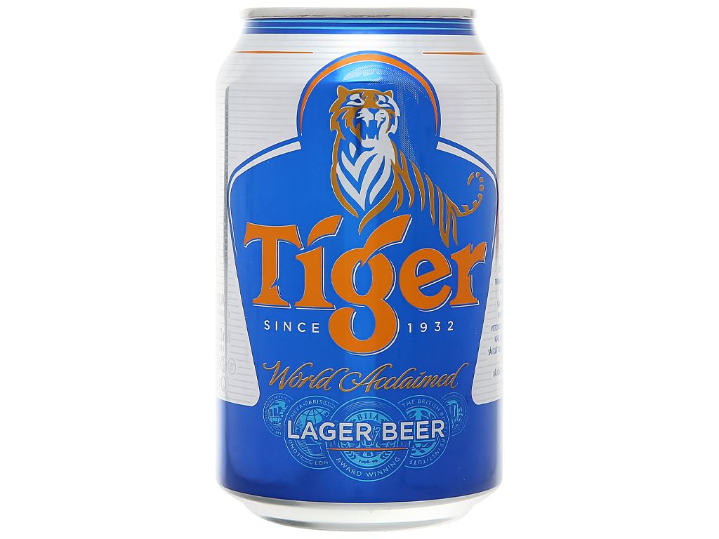 Thùng 24 lon bia Tiger 330ml 2