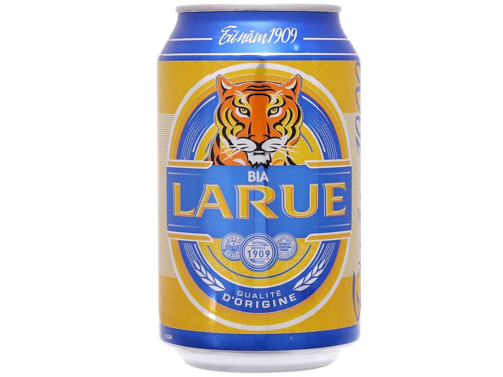 Thùng 24 lon bia Larue Xanh 330ml 2