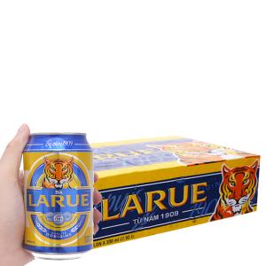 Thùng 24 lon bia Larue Xanh 330ml