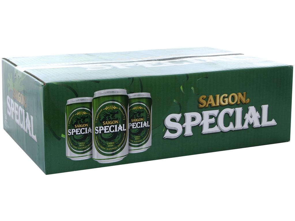 Thùng 24 lon Bia Sài Gòn Special 330ml 1
