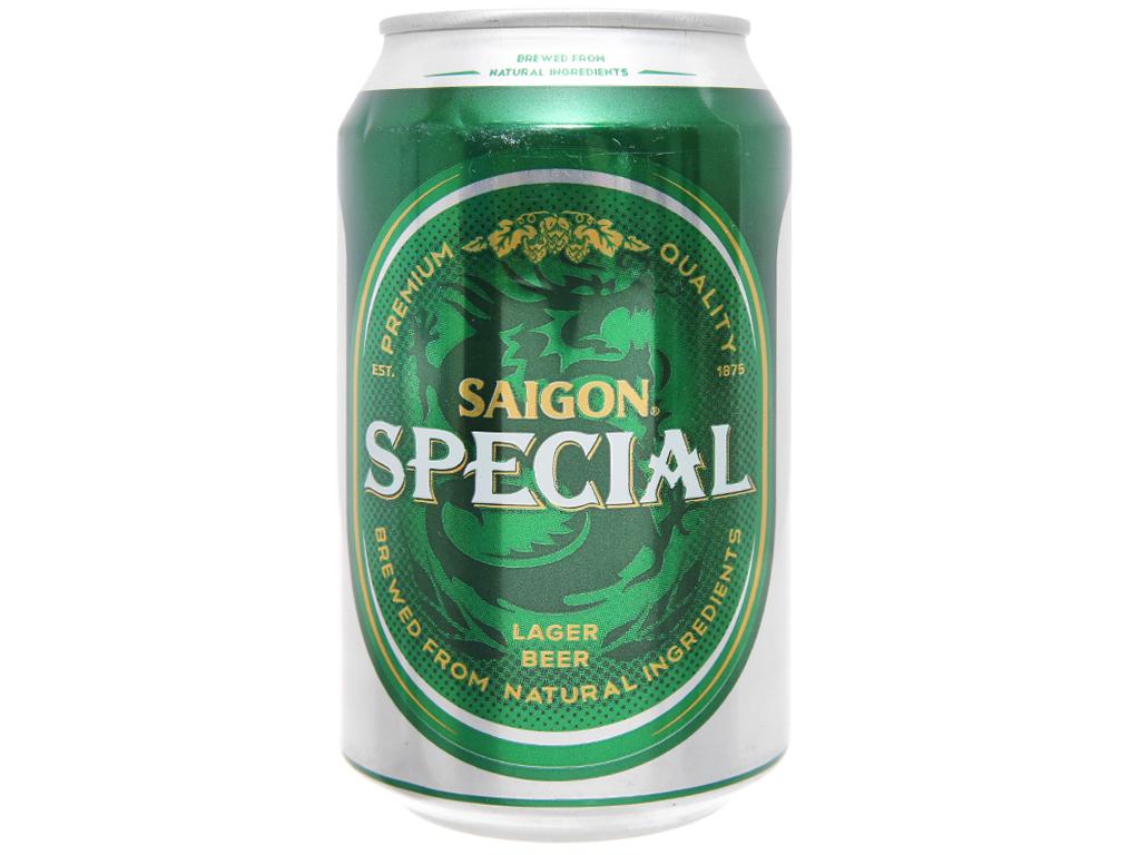 Thùng 24 lon Bia Sài Gòn Special 330ml 2
