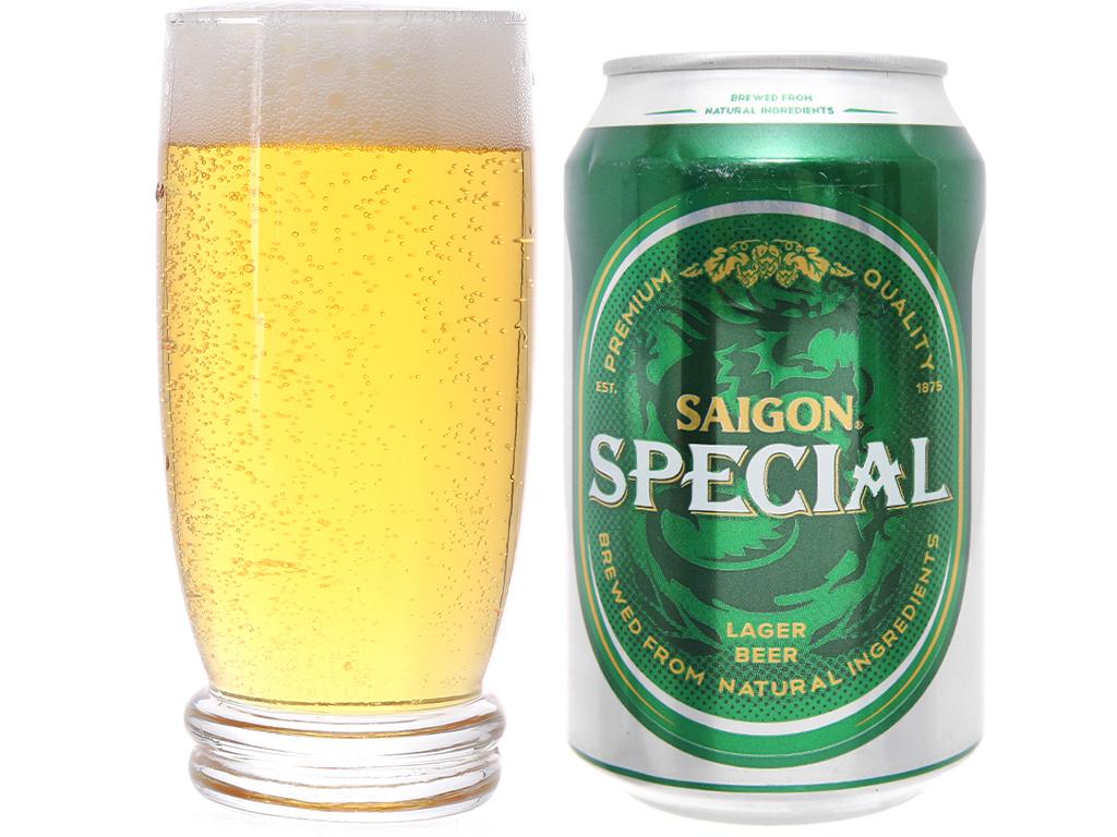 Thùng 24 lon Bia Sài Gòn Special 330ml 4