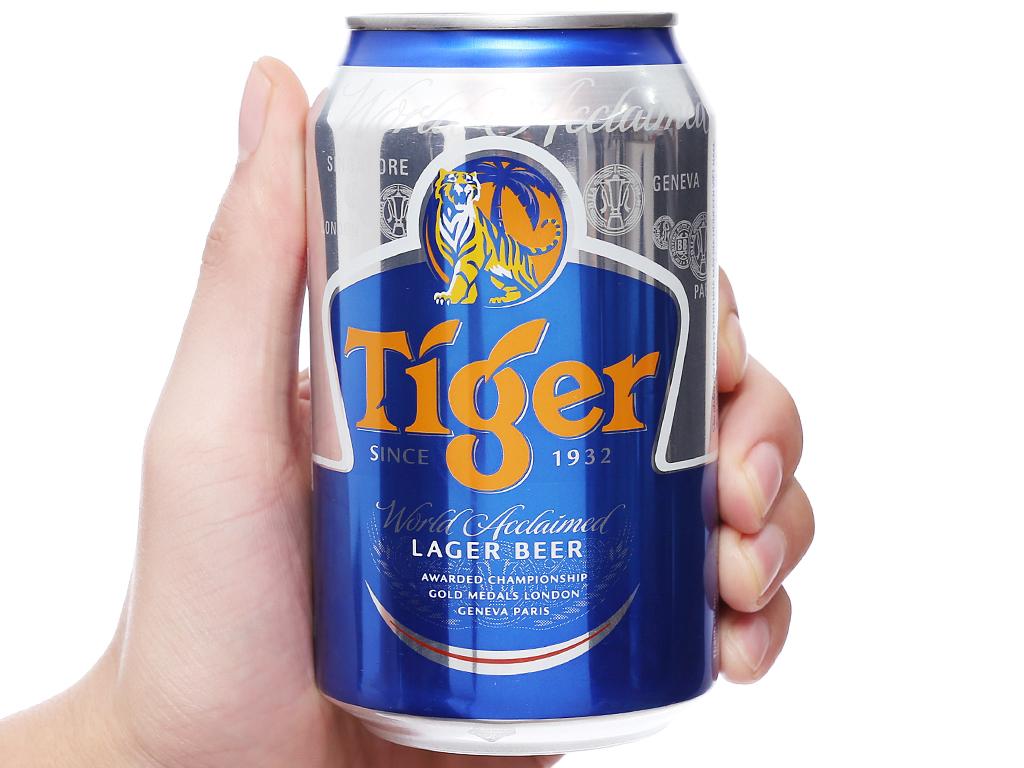 Bia Tiger 330ml 5