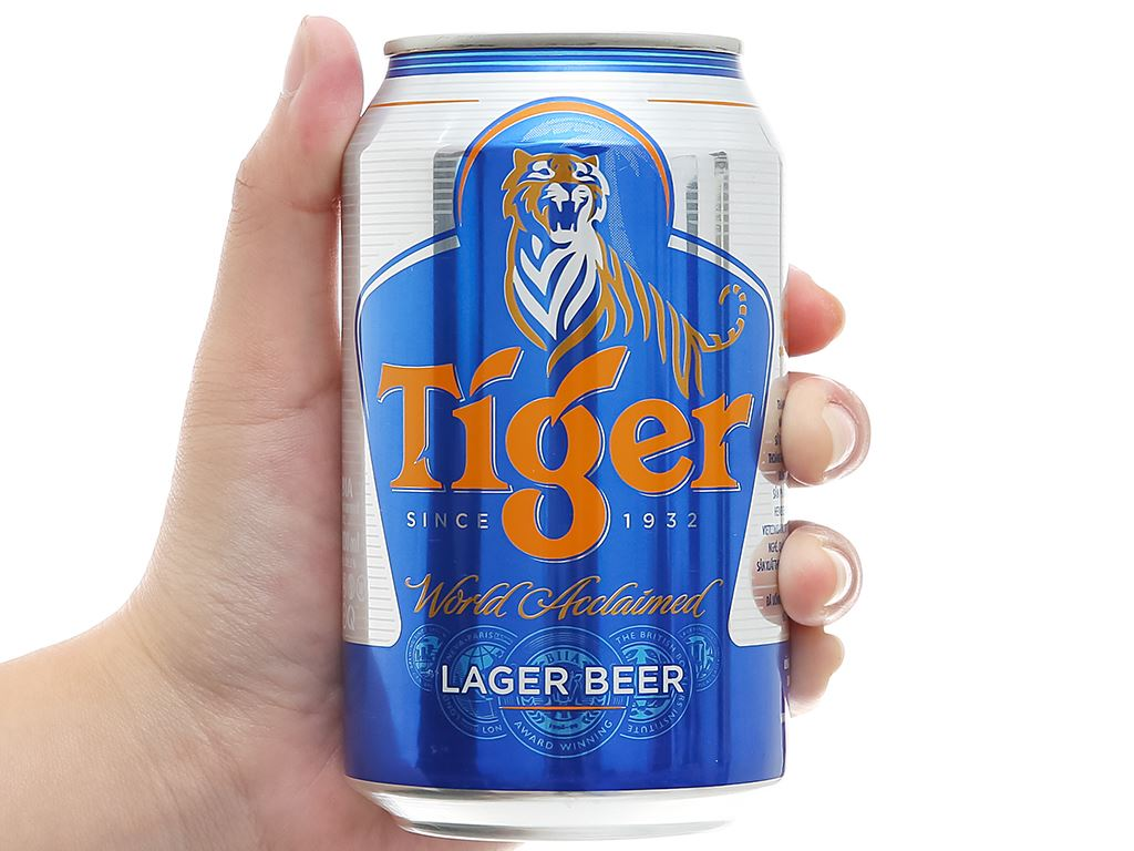 Bia Tiger 330ml 16