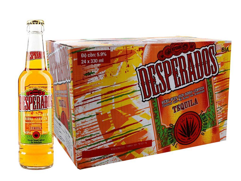 Thùng 24 chai Bia Desperados 330ml 1