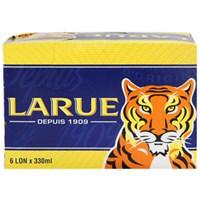Lốc bia Larue xanh lon 330ml (6 lon)