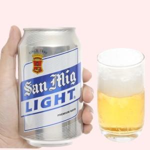 Bia San Mig Light 330ml