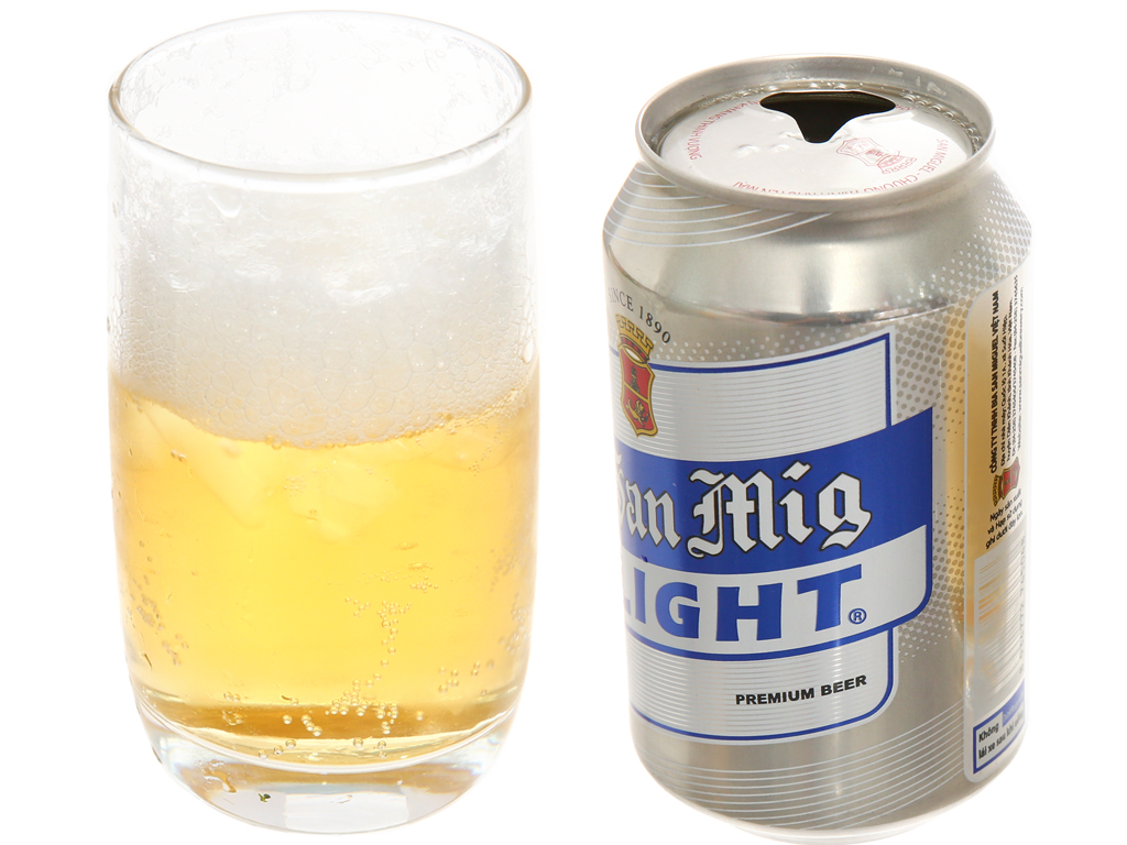 Bia San Mig Light 330ml 3