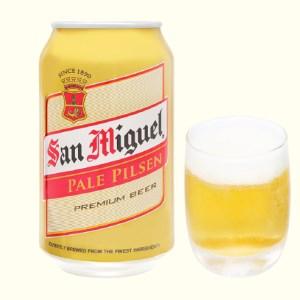 Bia San Miguel Pale Pilsen 330ml