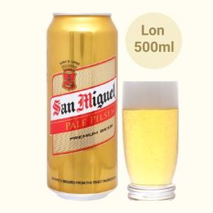 Bia San Miguel Pale Pilsen 500ml