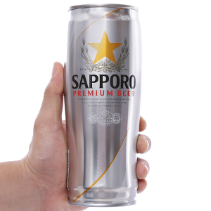 Bia Sapporo Crystal 650ml