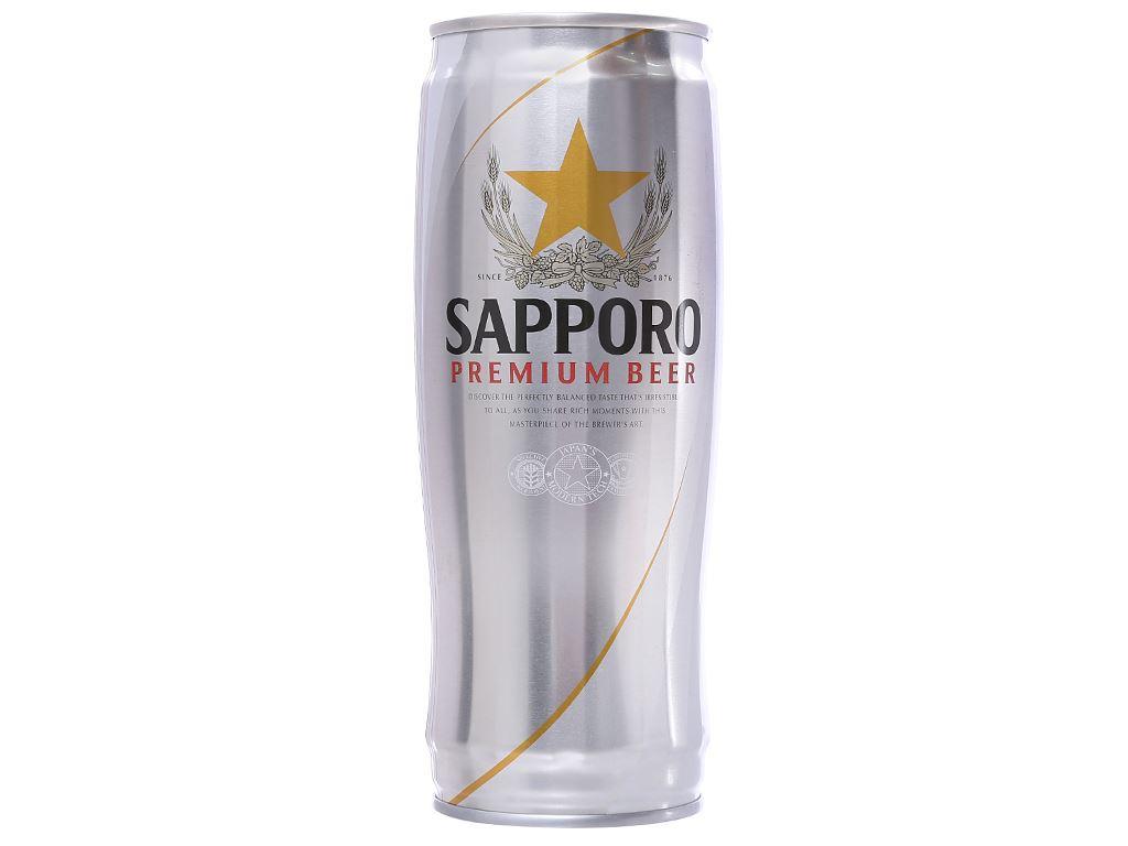 Bia Sapporo 650ml 1