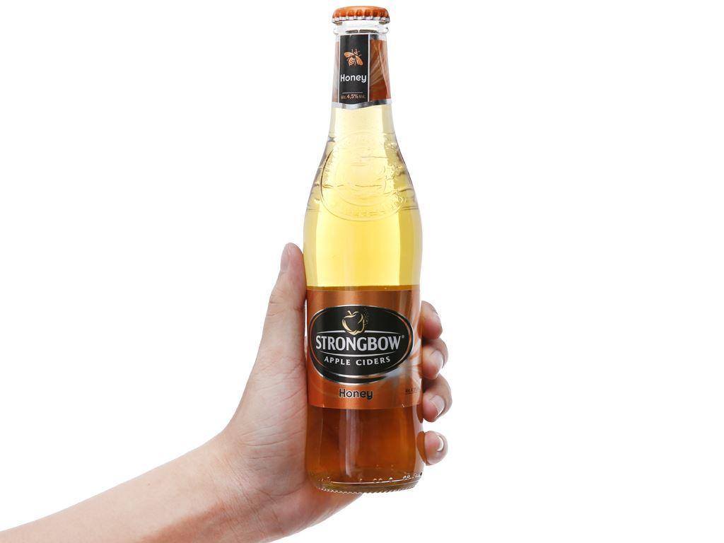 Thùng 24 chai Strongbow mật ong 330ml 5