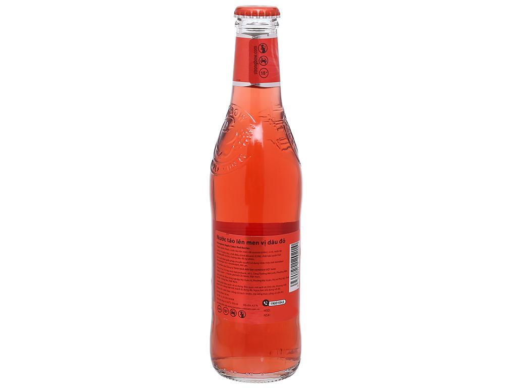 Thùng 24 chai Strongbow dâu 330ml 6
