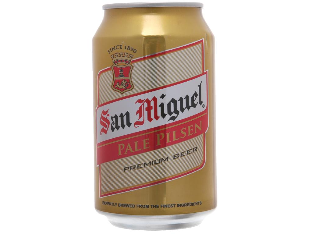 Thùng 24 lon San Miguel Pale Pilsen - 3