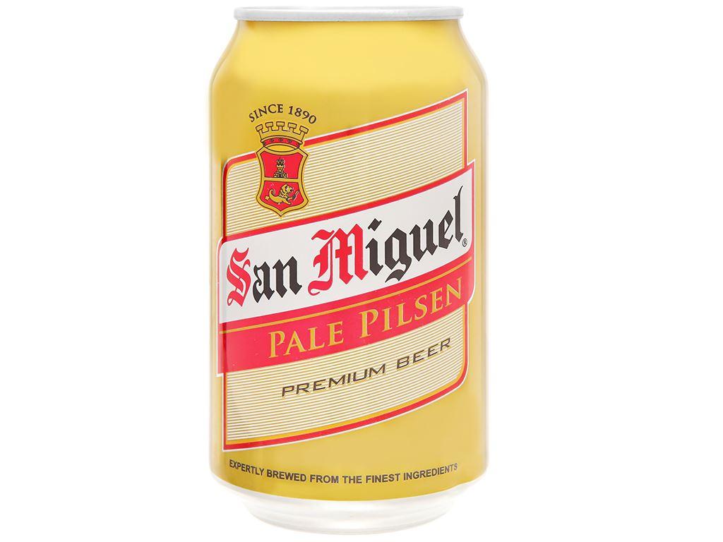 Thùng 24 lon bia San Miguel Pale Pilsen 330ml 2
