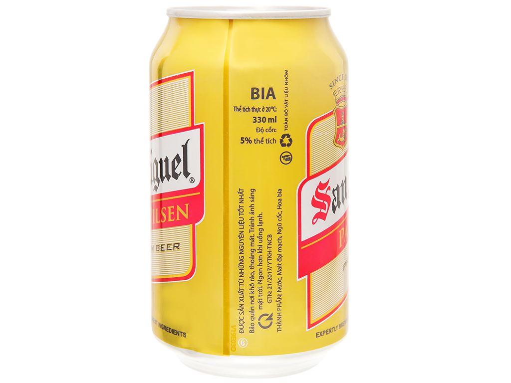 Thùng 24 lon bia San Miguel Pale Pilsen 330ml 4