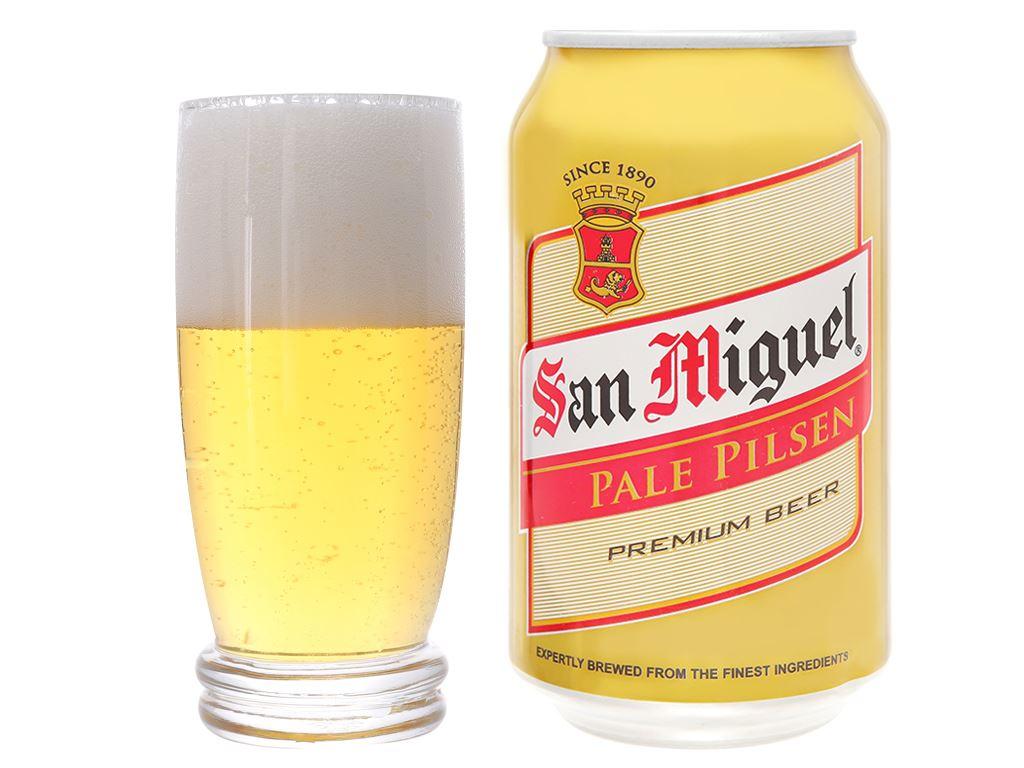 Thùng 24 lon bia San Miguel Pale Pilsen 330ml 7