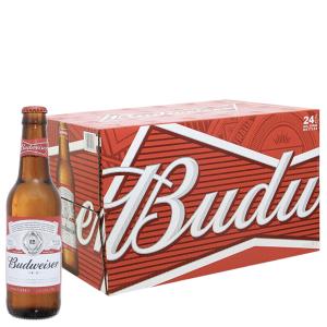 Thùng 24 chai Budweiser 330ml
