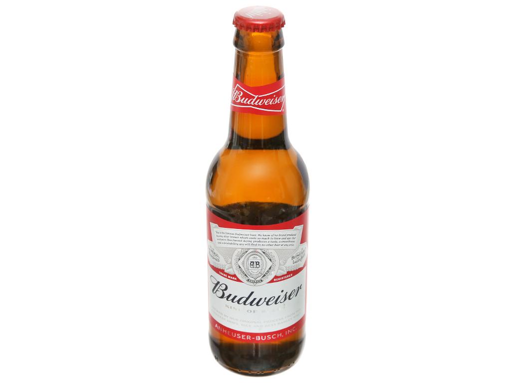 Thùng 24 chai Budweiser 330ml 5
