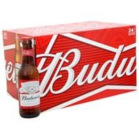 Thùng bia Budweiser chai 330ml (24 chai)